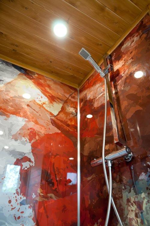 Custom Epoxy Shower Walls - Thuya by Minimaliste