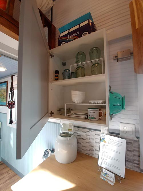 Upper Cabinet - Blue Baloo by Far Out Tiny Homes
