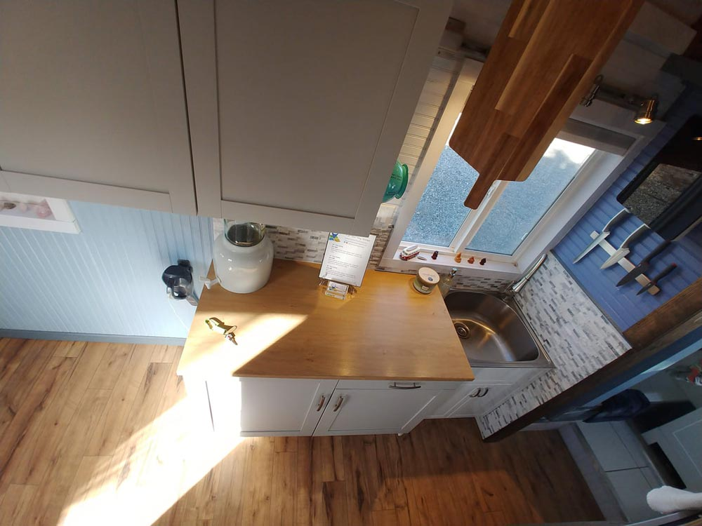 Wood Countertop - Blue Baloo by Far Out Tiny Homes