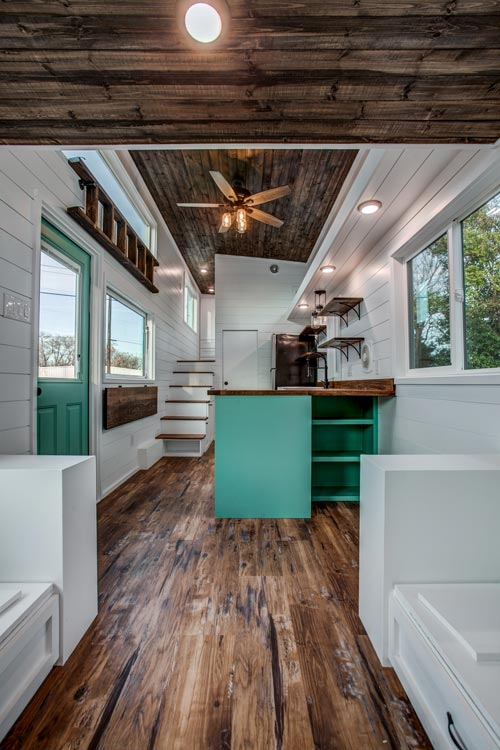 View From Living Area - 34' Magnolia by Indigo River Tiny Homes