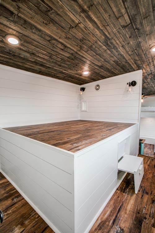 Bed Platform - 34' Magnolia by Indigo River Tiny Homes