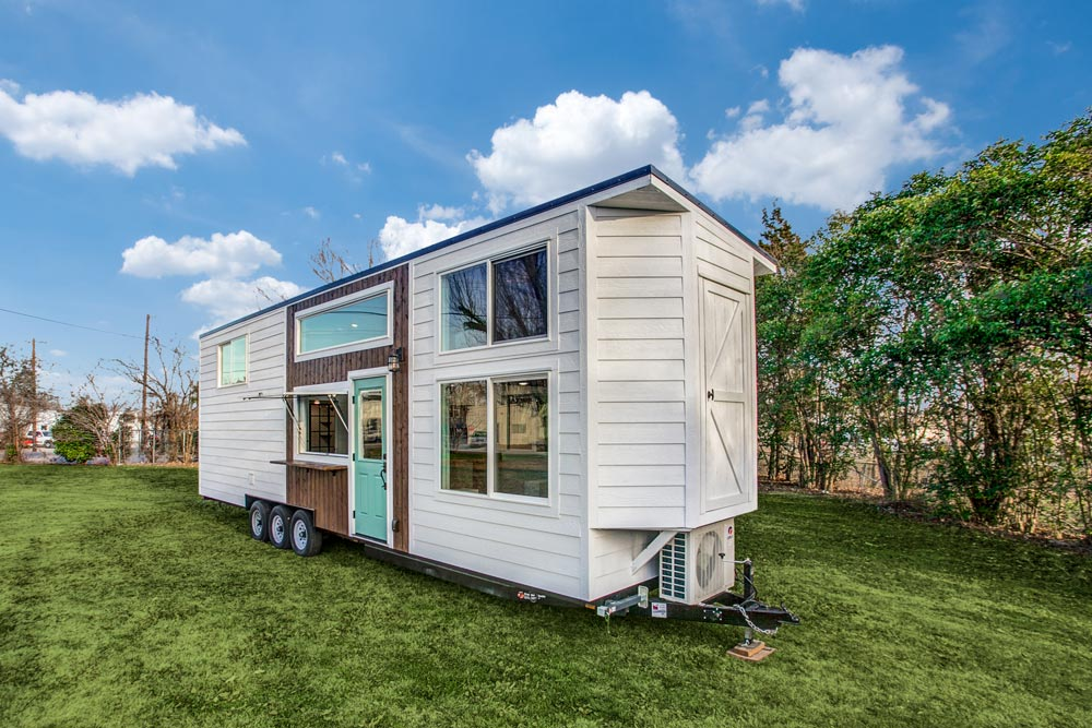 Outside Storage Compartment - 34' Magnolia by Indigo River Tiny Homes
