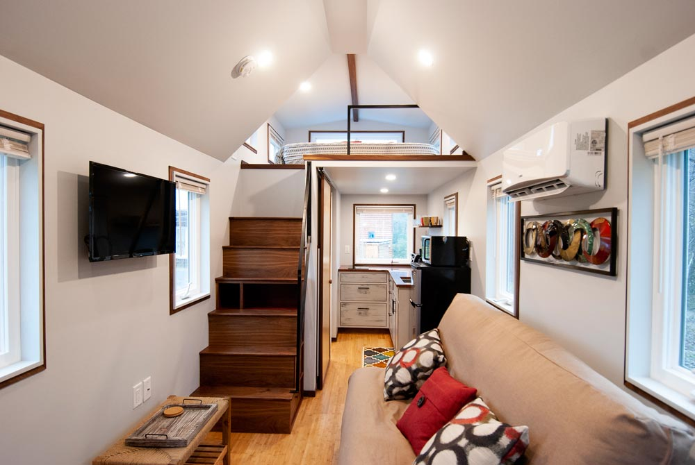Tiny House Interior - Looking Glass by Red Crown Tiny Homes