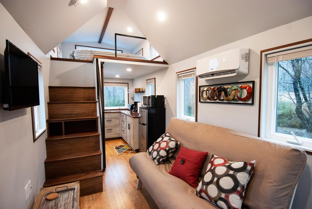 Living Room - Looking Glass by Red Crown Tiny Homes