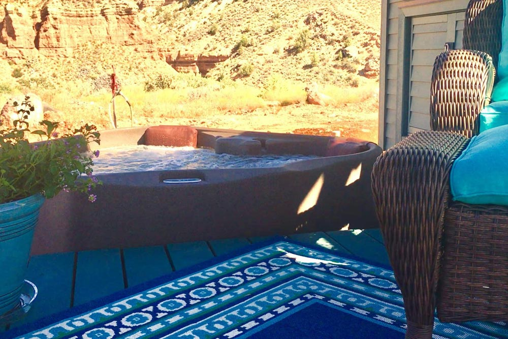 Hot Tub - Mother Eve at Zion National Park