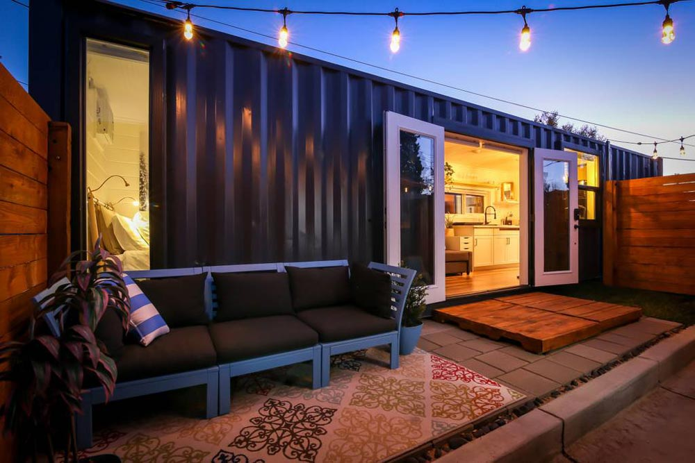 Container Home - A Tiny Slice of Heaven by Alternative Living Spaces