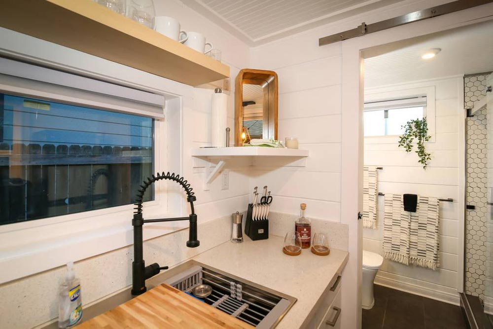 Kitchen Sink - A Tiny Slice of Heaven by Alternative Living Spaces