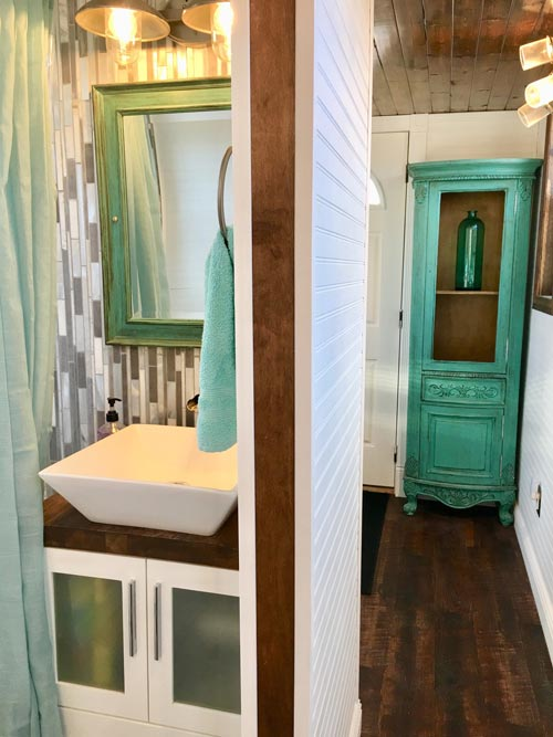 Vessel Bathroom Sink - Ark at Zion National Park