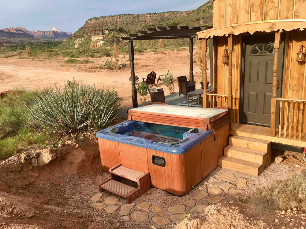 Hot Tub - Ark at Zion National Park