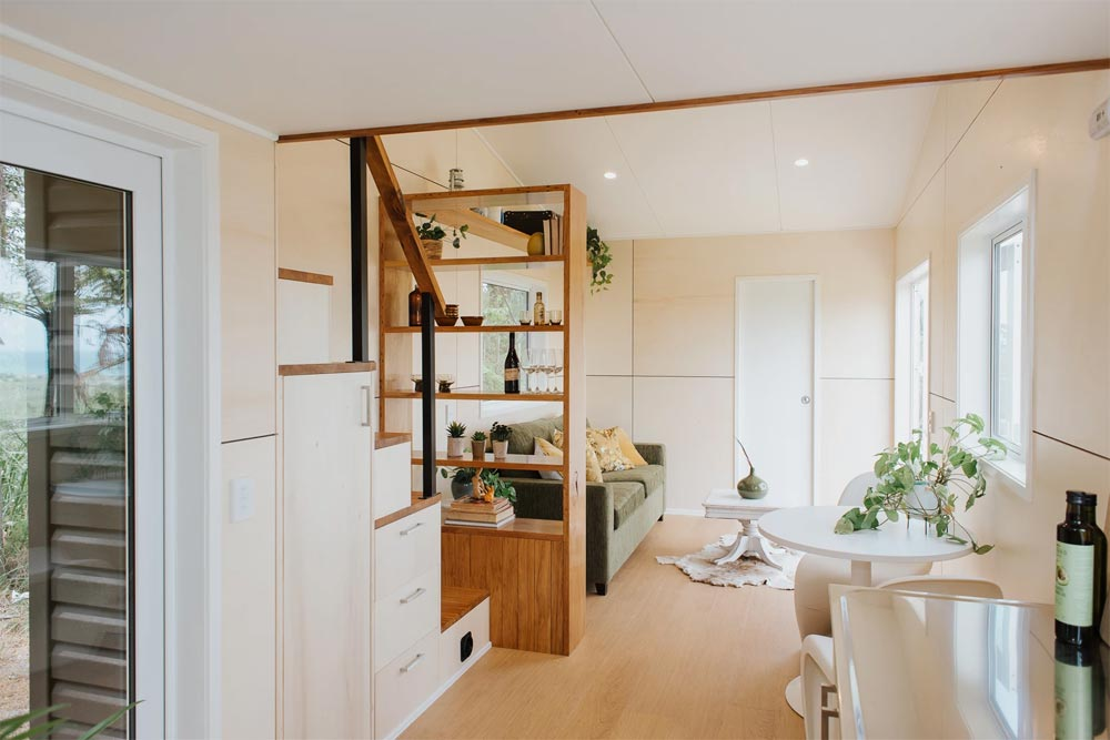 View From Kitchen - Cherry Picker Tiny House by Build Tiny