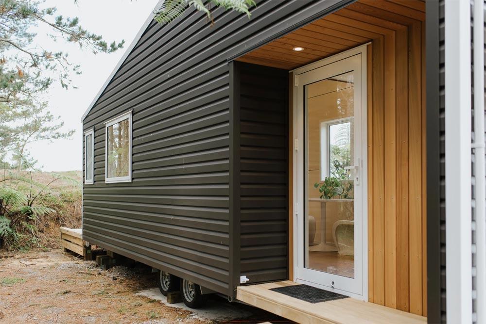 Cedar Accent - Cherry Picker Tiny House by Build Tiny