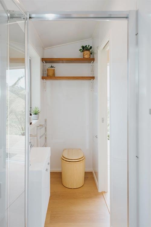 Bambooloo Toilet - Cherry Picker Tiny House by Build Tiny