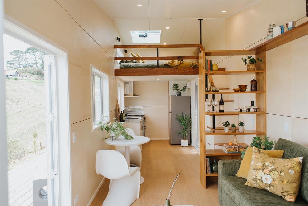 Entryway - Cherry Picker Tiny House by Build Tiny