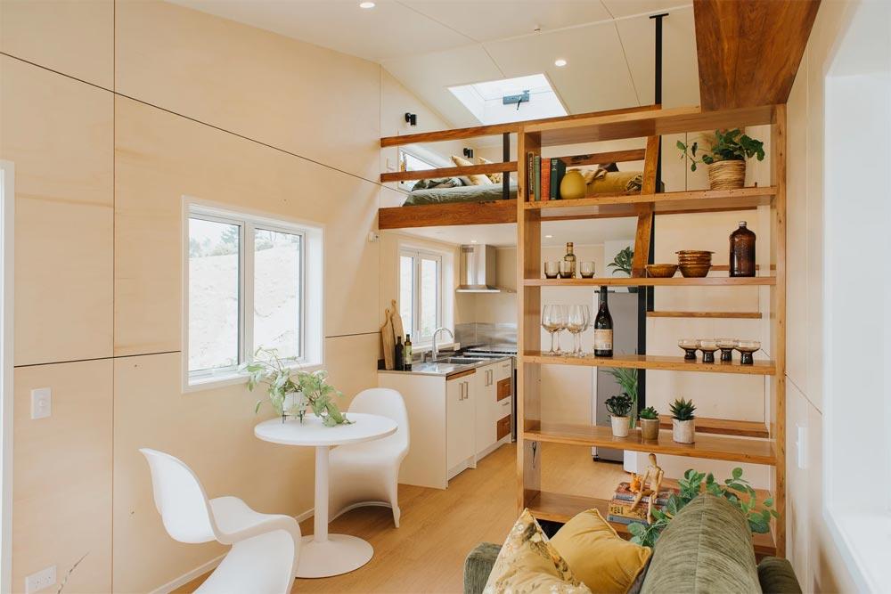 Dining & Kitchen - Cherry Picker Tiny House by Build Tiny