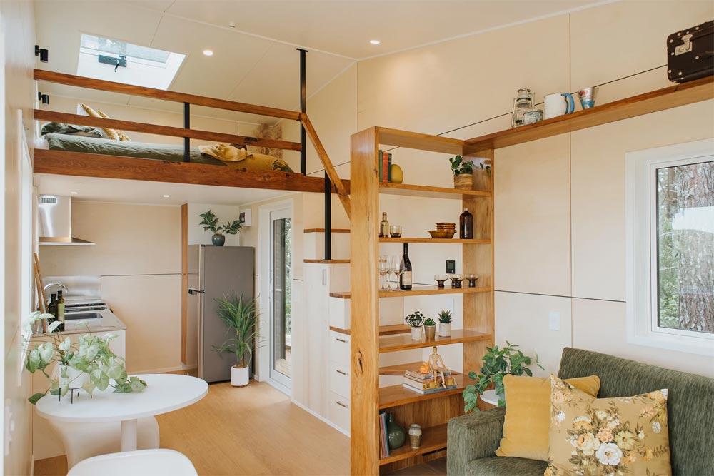 Interior View - Cherry Picker Tiny House by Build Tiny