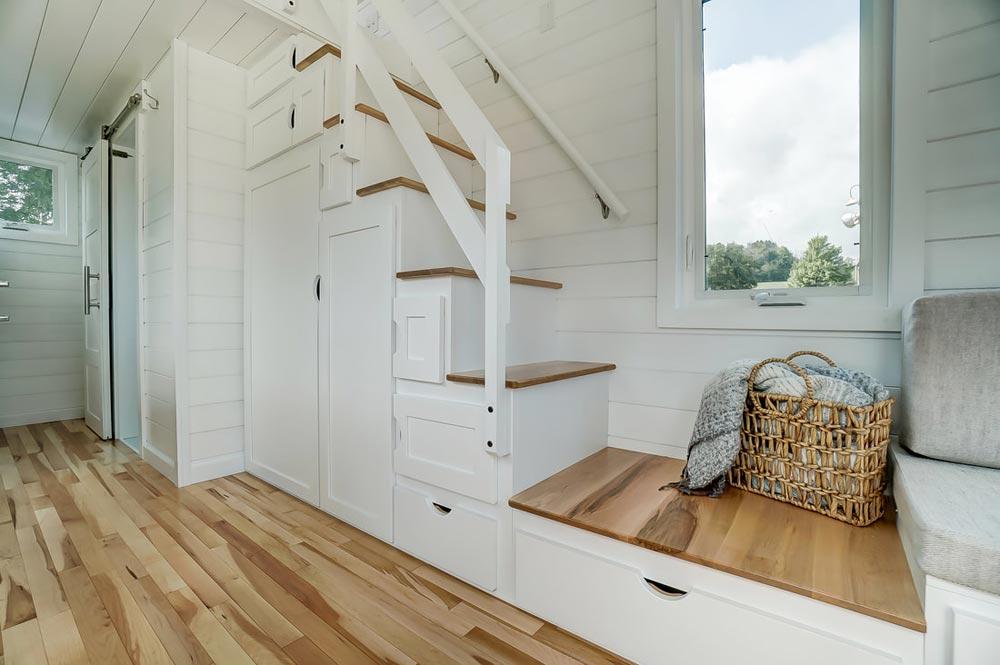 Storage Stairs - Rainier by Modern Tiny Living