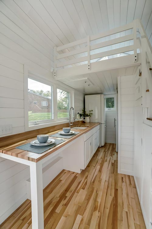 White Interior w/ Wood Accents - Rainier by Modern Tiny Living