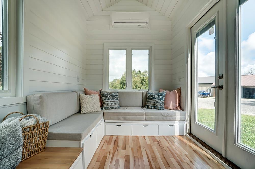 Living Room & French Doors - Rainier by Modern Tiny Living