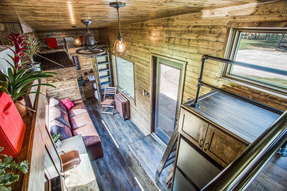 View From Loft - Thoreau by Indigo River Tiny Homes