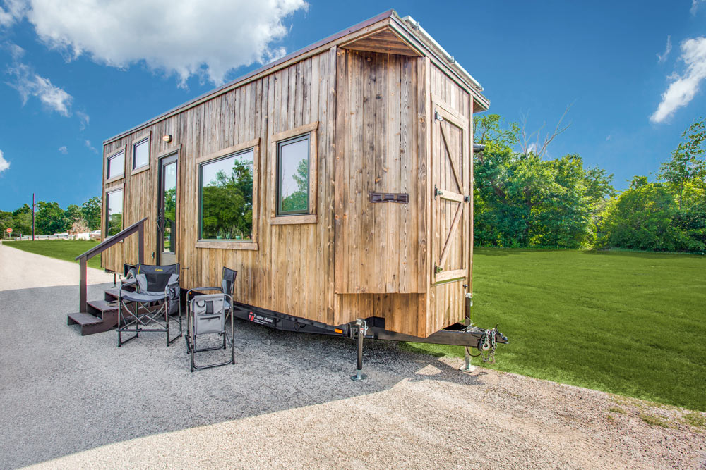 Exterior Storage - Thoreau by Indigo River Tiny Homes