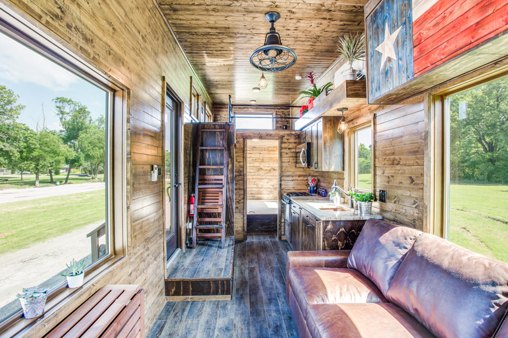 Living Room - Thoreau by Indigo River Tiny Homes