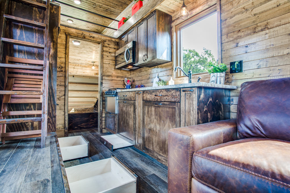 Plentiful Storage - Thoreau by Indigo River Tiny Homes