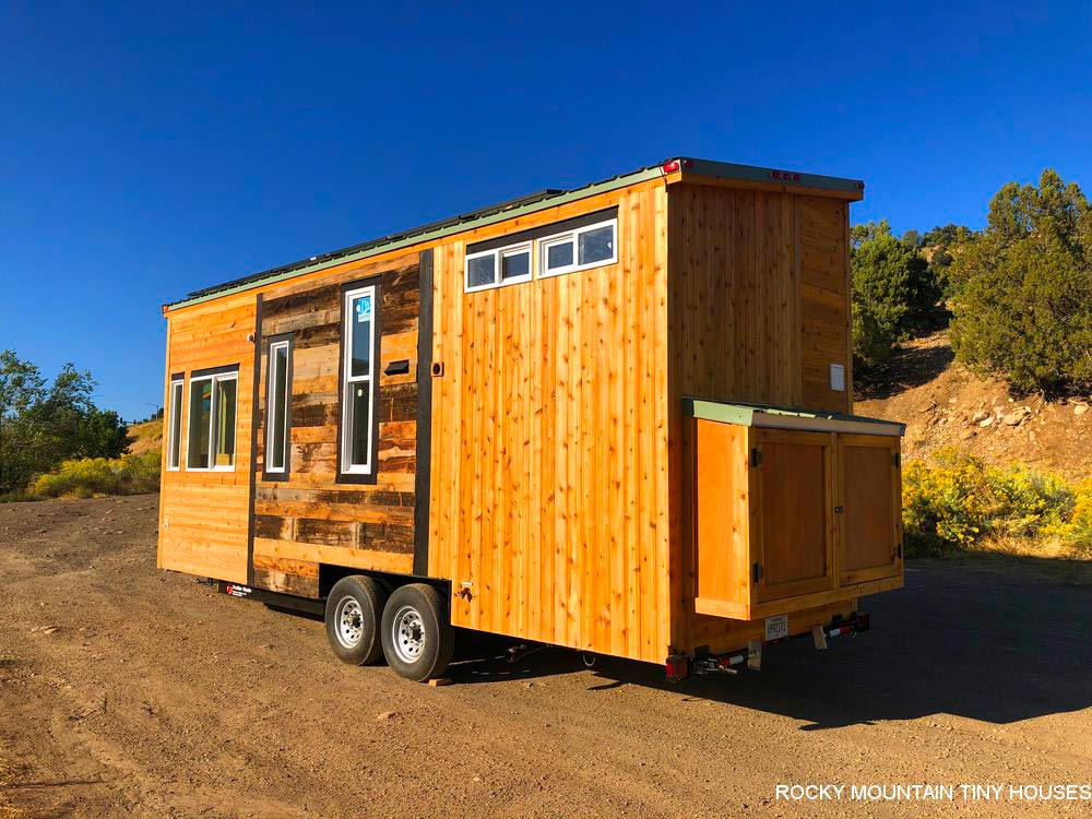 Rustic Exterior - Timberwolf by Rocky Mountain Tiny Houses