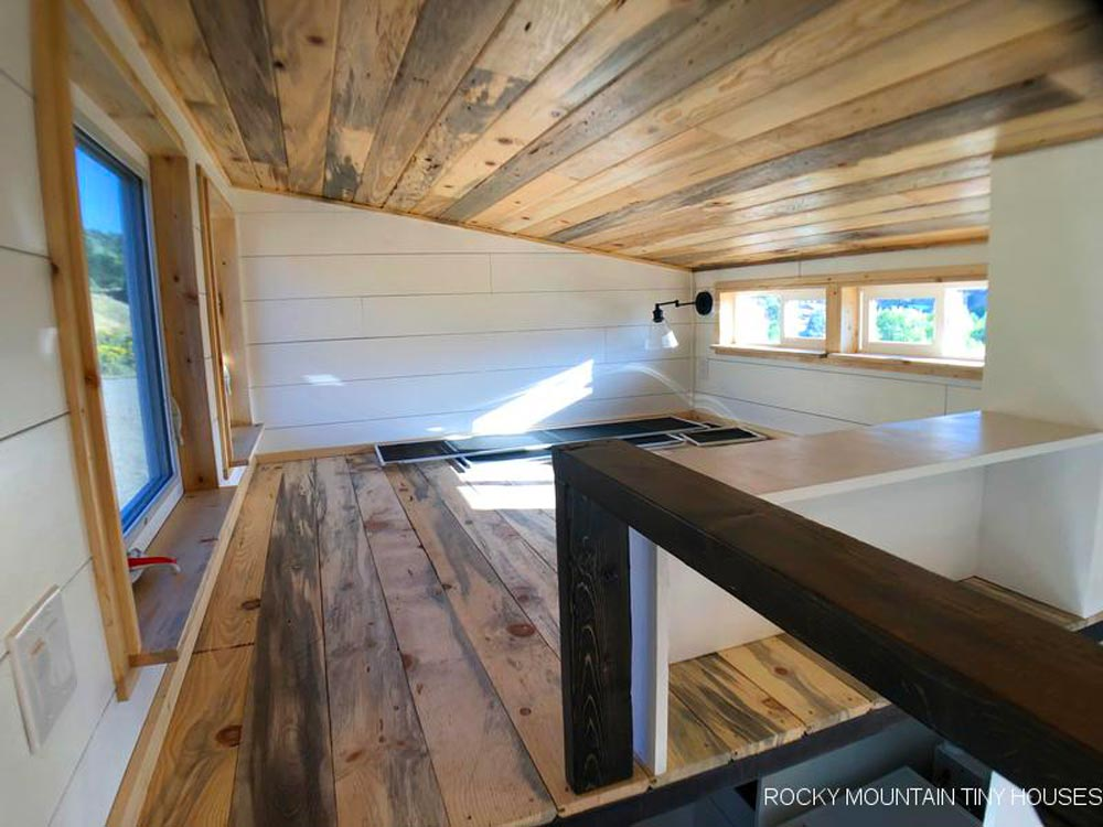 Bedroom Loft - Timberwolf by Rocky Mountain Tiny Houses