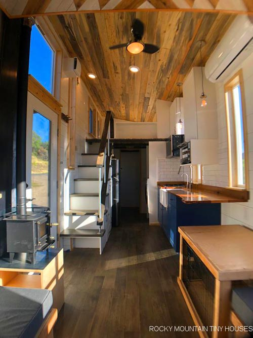 Interior View - Timberwolf by Rocky Mountain Tiny Houses