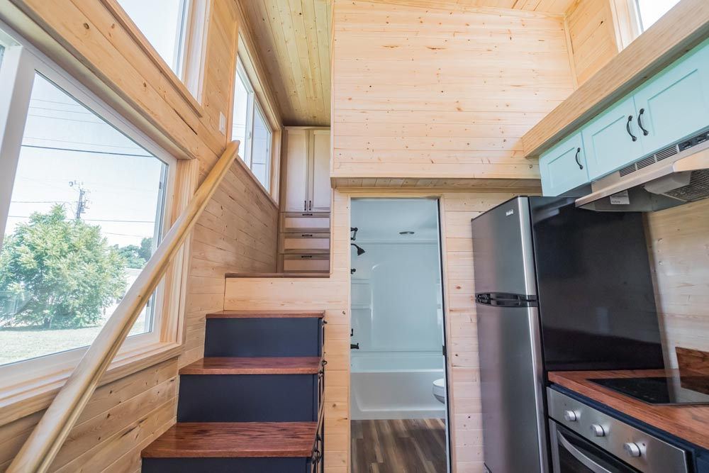 Loft Platform - Wanderlust by Indigo River Tiny Homes
