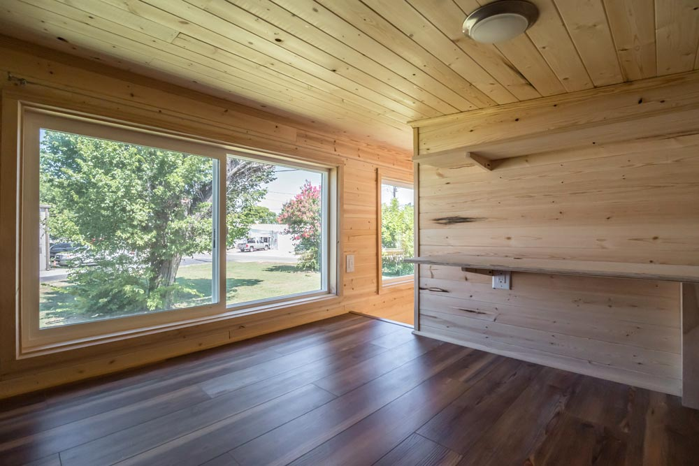 Loft Window - Wanderlust by Indigo River Tiny Homes