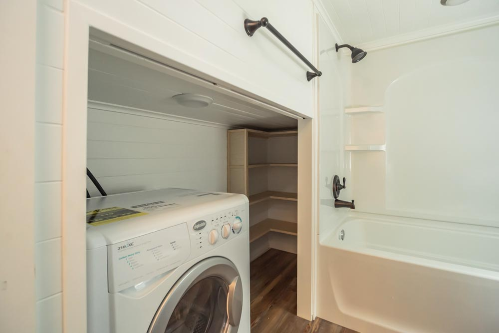 Washer/Dryer Combo - Wanderlust by Indigo River Tiny Homes