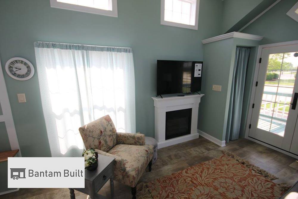 Electric Fireplace - DeeDee by Bantam Built