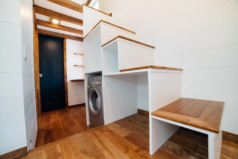 Storage Stairs - Triton 2.0 by Wind River Tiny Homes