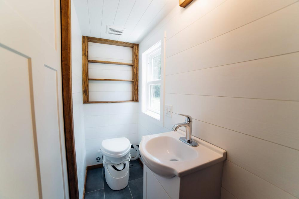 Bathroom - Triton 2.0 by Wind River Tiny Homes