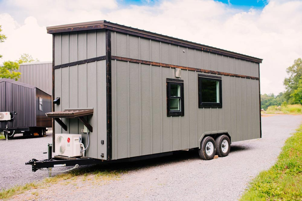 Rear View - Triton 2.0 by Wind River Tiny Homes