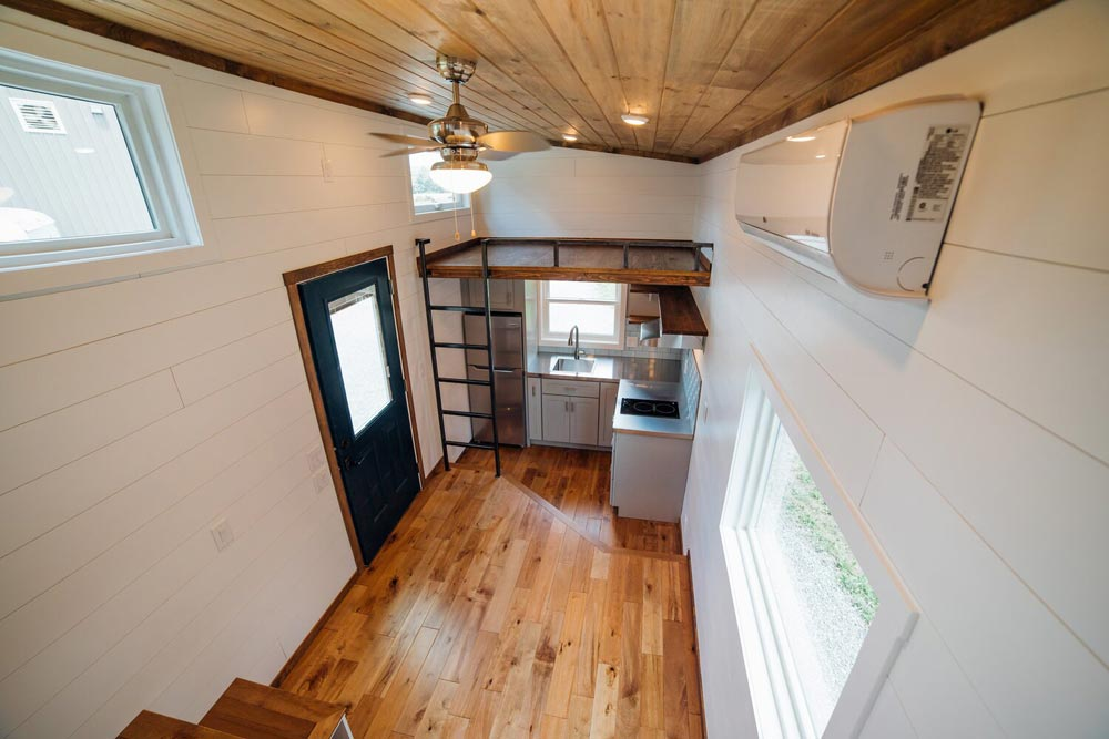 View From Loft - Triton 2.0 by Wind River Tiny Homes