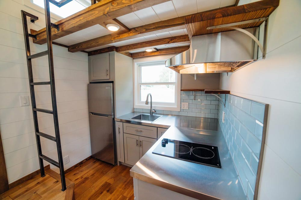 Stainless Steel Counter - Triton 2.0 by Wind River Tiny Homes