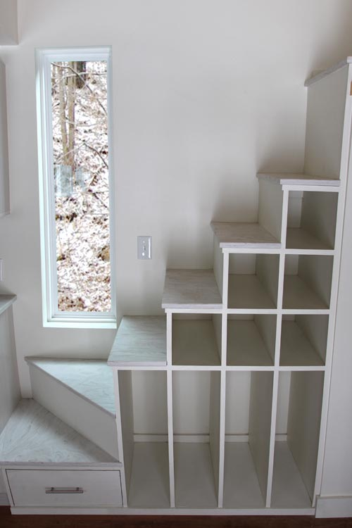 Storage Stairs - Kinderhook by B&B Micro Manufacturing