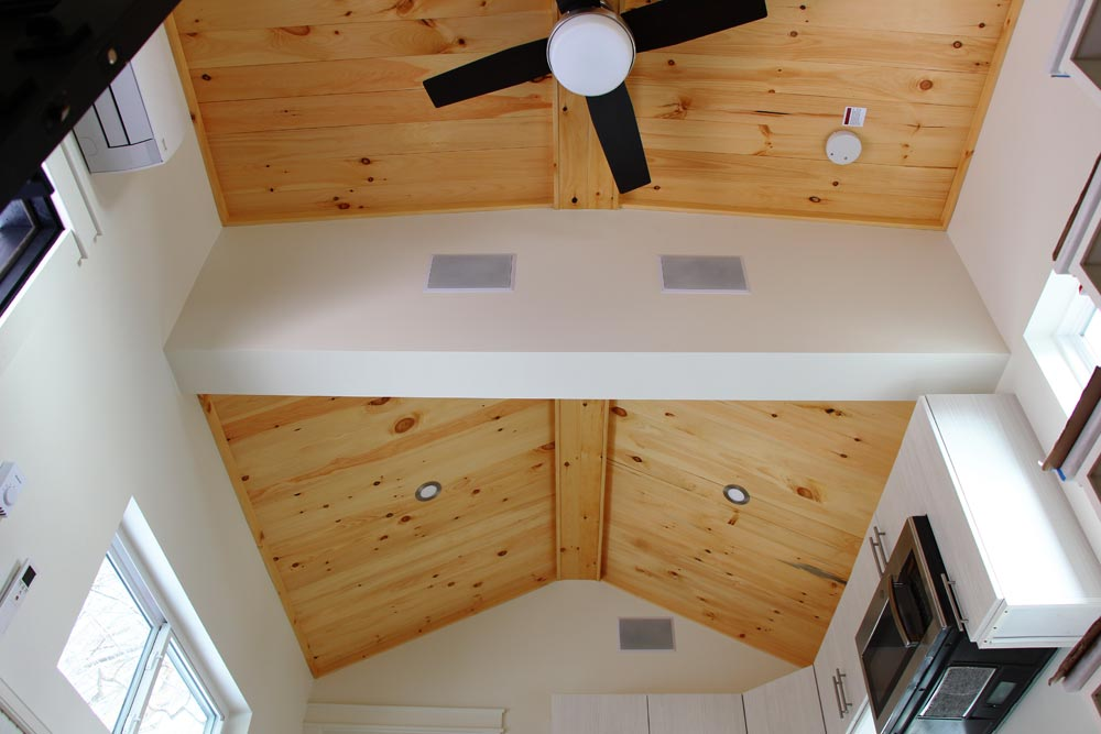 Natural Wood Ceiling - Kinderhook by B&B Micro Manufacturing