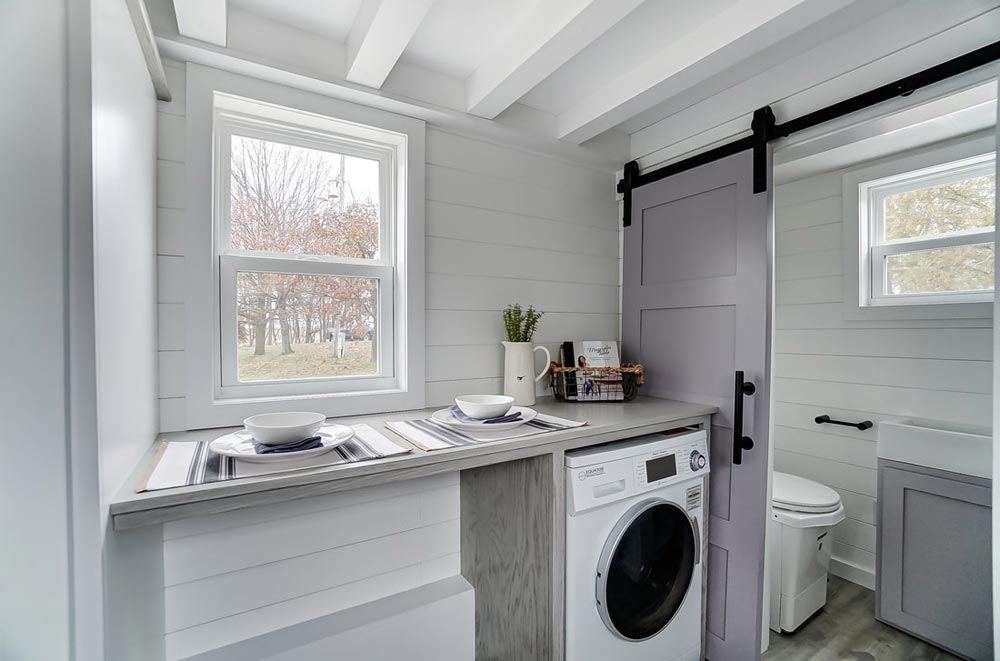 Washer/Dryer Space - Niagara by Modern Tiny Living