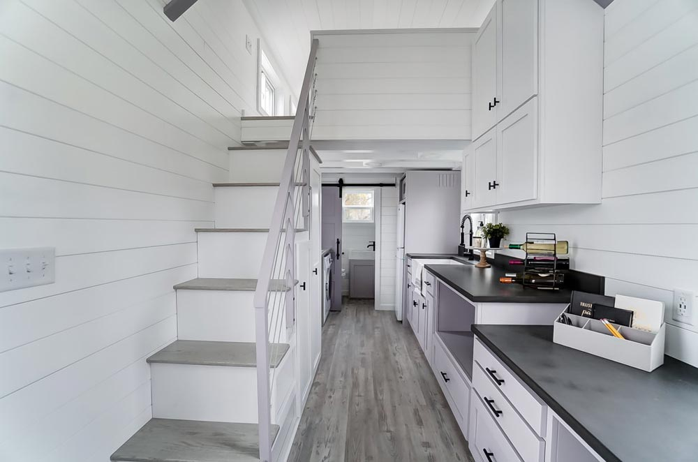 Kitchen & Storage Stairs - Niagara by Modern Tiny Living