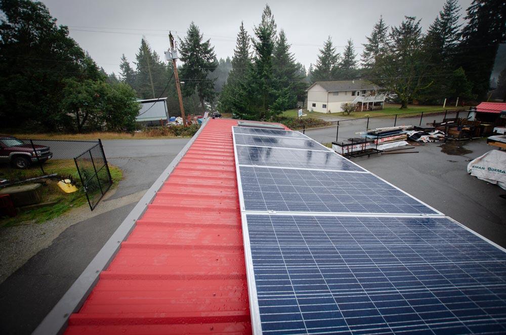 Solar Panels - Calliope by Rewild Homes