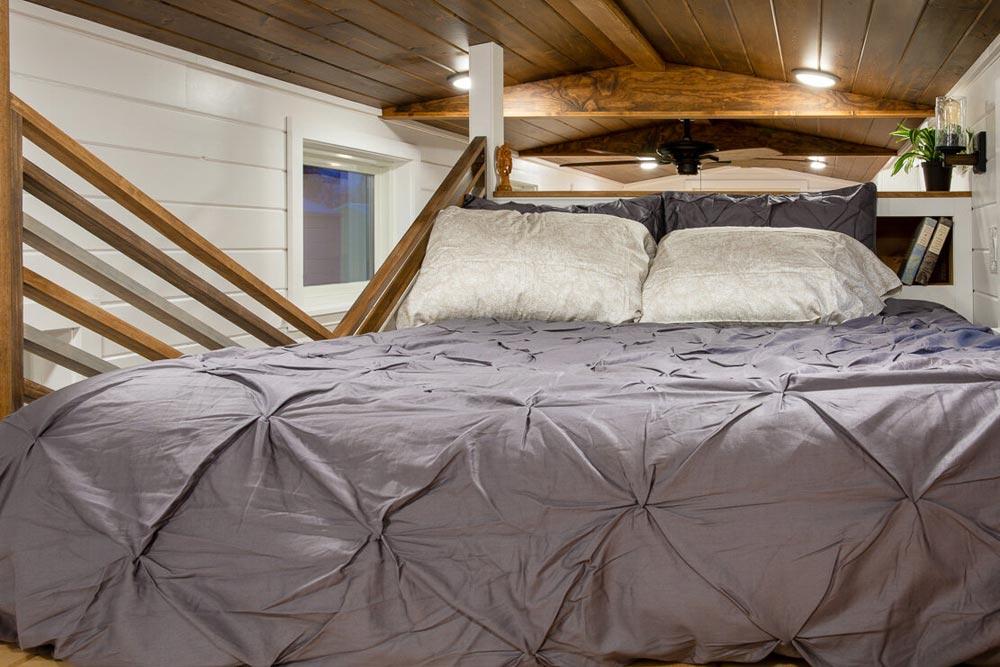 Master Bedroom - Nicole's Tiny House by MitchCraft Tiny Homes