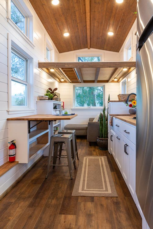 Dining Table - Nicole's Tiny House by MitchCraft Tiny Homes