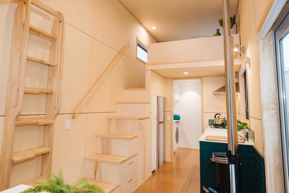 Storage Stairs - Sonnenschein Tiny House by Build Tiny