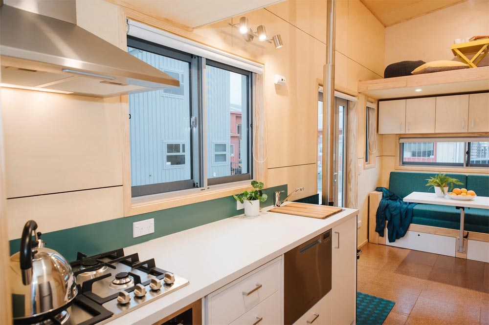 Kitchen Counter - Sonnenschein Tiny House by Build Tiny