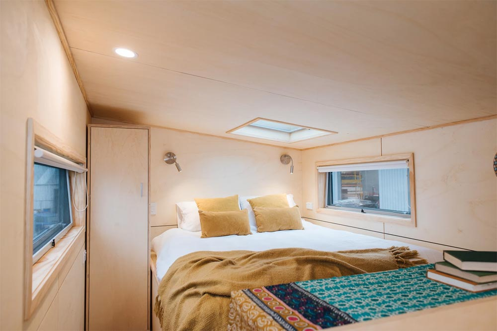 Bedroom Loft - Sonnenschein Tiny House by Build Tiny