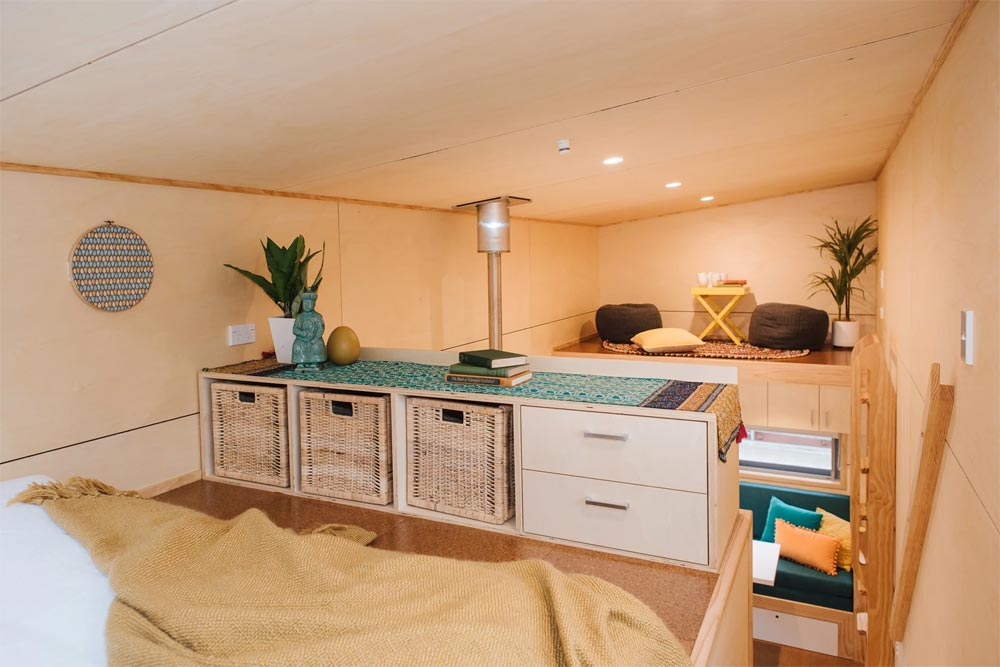 Bedroom Storage - Sonnenschein Tiny House by Build Tiny