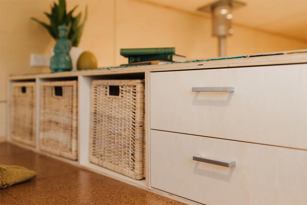 Bedroom Drawers - Sonnenschein Tiny House by Build Tiny